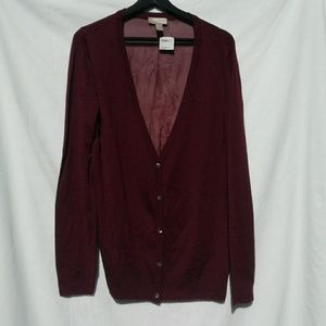New FOREVER 21 sheer cardigan sweater size…